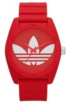 Adidas นาฬิกาข้อมือผู้ชาย สีแดง สายยาง รุ่น ADH6168