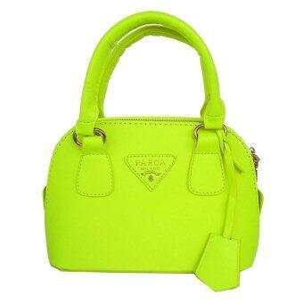 Oops Travel Bag กระเป๋าแฟชั่น MINI รุ่น 186 - Green