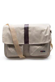 DM กระเป๋าสะพายข้าง รุ่น nx (สีเบจ)