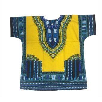 Jungo Shirt (Yellow) เสื้อจังโก้ (เหลือง)