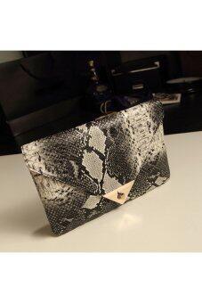 แฟชั่นกระเป๋าหนังเทียมซองหนังงูกระเป๋าเงินวันนี้ตอนเย็นรอด (ส่งออก)-ระหว่างประเทศ