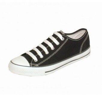 Mashare รองเท้าผ้าใบแฟชั่น มาแชร์ US รุ่น 191 สีดำ