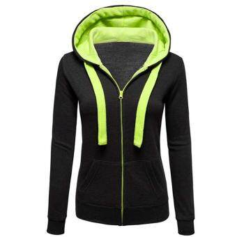 Harga WomenPain Hoody weat shirt Hooded Juper Jackset Zip Top