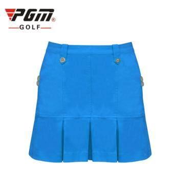 EXCEED LADY GOLF SKIRT BLUE COLOUR กระโปรงกอล์ฟ (QZ003) สีฟ้าเข้ม