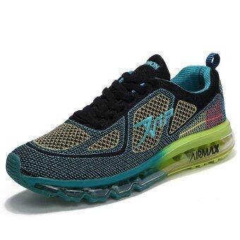 Air Coushion รองเท้าวิ่งผู้ชายรองเท้ากีฬาที่น่าสนใจรองเท้านักกีฬา Men's Running Shoes Breathable Sports Shoes