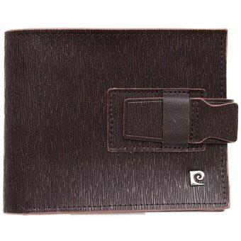Pierre Cardin กระเป๋าสตางค์ รุ่น PWJ4-XD01- สีน้ำตาล
