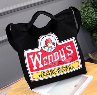 Aline กระเป๋าพร้อมหูหิ้ว และสายสะพาย สีดำ