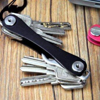 KeySmart อุปกรณ์จัดเก็บกุญแจ Key Smart สีดำ