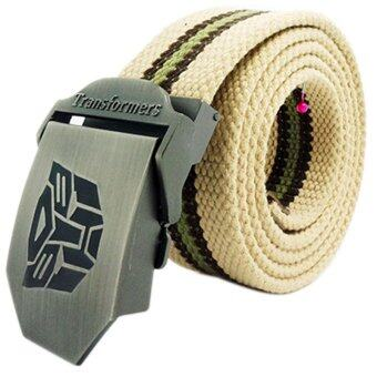 Harga Leisure Wild Thickened Men's Canvas Belt.