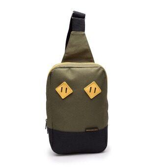 DISCOVERY กระเป๋าสะพายข้างเฉียง รุ่น Sling Bag DR 3002 Olive
