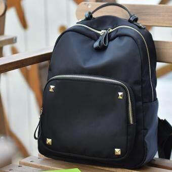 Khaewara กระเป๋าเป้สะพายหลัง สไตล์เกาหลี รุ่น KPB01(สีดำ)