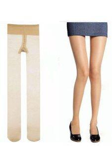 AZONE ถุงน่องถุงเท้า Collants Soie Pantalon ชั้นในความโปร่งใส
