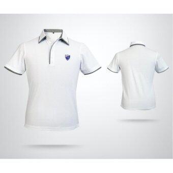 EXCEED เสื้อกอล์ฟผู้ชาย สีขาว YF027 MEN'S GOLF STRETCH T-SHIRT PGM ( WHITE )