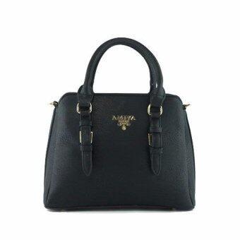 กระเป๋าถือ กระเป๋าสะพาย ผู้หญิง รหัส.69267 (สีดำ)
