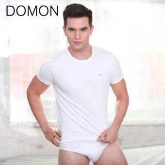 DOMON INNERWEAR เสื้อชั้นในชายคอกลม DOMON