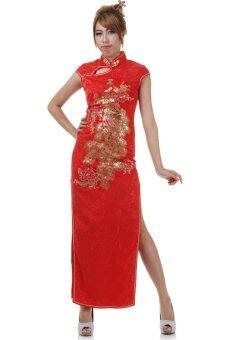 Princess of Asia กี่เพ้ายาว - สีแดง