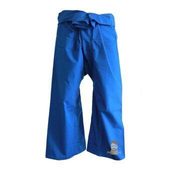 Fisherman Pants กางเกงเล สีน้ำเงินสด(Not Specified)