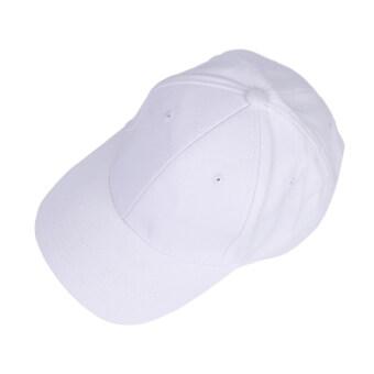 เพศผู้...แฟชั่นหมวกสไตล์โปโลของหยงวัสดุหมวกแก๊ปเบสบอลฝ้ายขาว