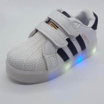 Alice shoe รองเท้าผ้าใบ แฟชั่นเด็กผู้ชาย และ เด็กผู้หญิง รุ่น SKL118-ฺBK (สีดำ)