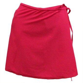 P&P Sports กระโปรง ทรง A กันโป๊ PSK2 1L สีแดงเลือดนก ฟรีไซส์