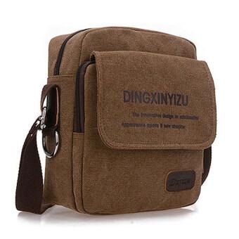 FTshop กระเป๋าสะพายข้าง กระเป๋าแฟชั่น กระเป๋าเดินทาง กระเป๋าสะพาย รุ่น20C-4(สีน้ำตาลเข้ม)