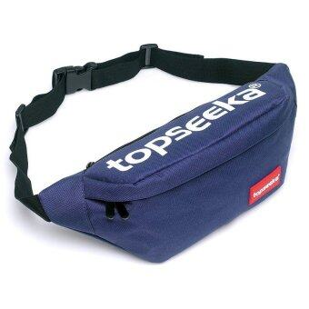 topseeka กระเป๋าคาดอก กระเป๋าคาดเอว TCB008 blue