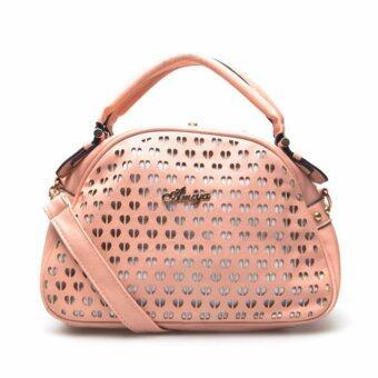 กระเป๋าถือ กระเป๋าสะพาย ผู้หญิง รหัส.69067-1 (สีชมพู)