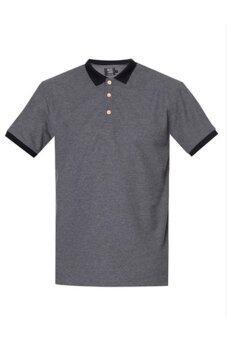 Musemenwears เสื้อยืดคอโปโล (สีเทาเข้ม)