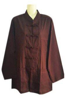 PEARL เสื้อผ้าฝ้ายสีกรัก ชุดปฏิบัติธรรม