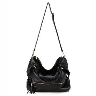Axixi กระเป๋าแฟชั่น รุ่น D08 (สีดำ)