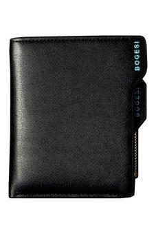 Trusty กระเป๋าสตางค์ผู้ชาย แบบแยกชิ้นรุ่น BOGESI - สีดำ