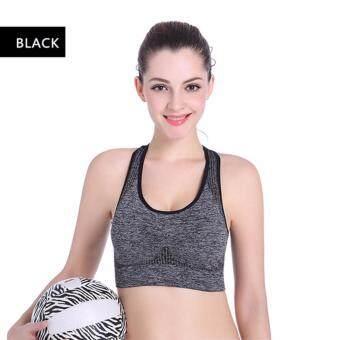 B&G เสื้อออกกำลังกาย บราผู้หญิงใส่ออกกำลังกาย Sport Woman Bra (Black)
