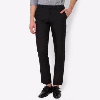 PRIMO LINEA กางเกงสแล็ค ผ้า Cool Mode 4JM45L2015 (สีดำ)