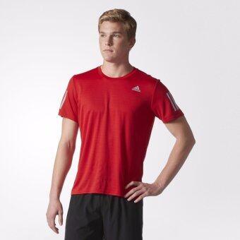 Adidas เสื้อ วิ่ง อาดิดาส Men Run T-Shirt Response Tee BP7433 R(890)