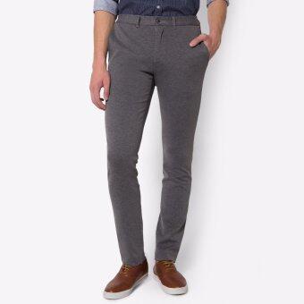 PRIMO LINEA กางเกงสแล็ค ผ้ายืด I-flex 4JM45L2014 (สีเทา)