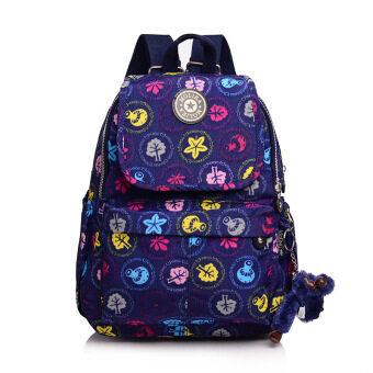 กระเป๋าเป้ผ้าใบแฟชั่นผู้หญิง Molika แพคเกจคอมพิวเตอร์ (คละสี)