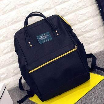 Bag Fashion กระเป๋าเป้สะพายหลัง กระเป๋าแฟชั่น รุ่น034 (สีดำ)