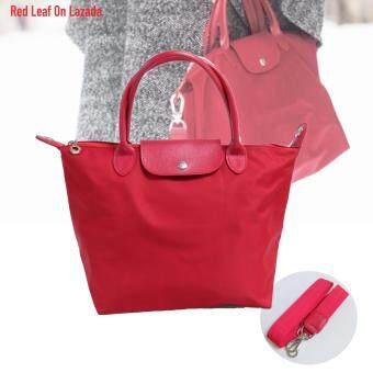 Red Leaf กระเป๋าสะพายไหล่ พร้อมสาย Cross body ผ้าไนล่อน - Red