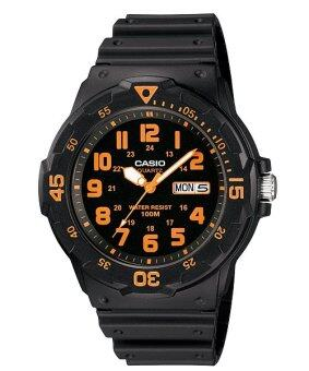 Casio Standard นาฬิกาข้อมือ รุ่น MRW-200H-4 (Black)