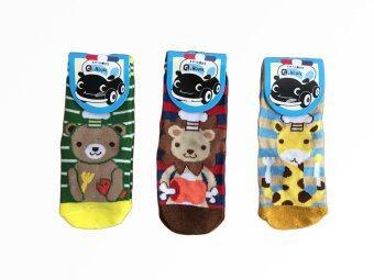 Krissy ถุงเท้าสำหรับเด็กผู้ชาย (แพ็ค 3 คู่) อายุ 1-4 ปี