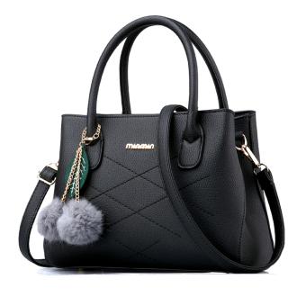 Little Bag กระเป๋าถือ กระเป๋าแฟชั่น กระเป๋าสะพายพาดลำตัว รุ่น LB-052 (สีดำ)