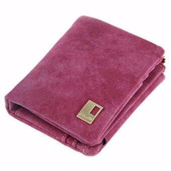 Matteo กระเป๋าสตางค์พับ 3 ตอนผู้หญิง E-RANYD - Pink Rose