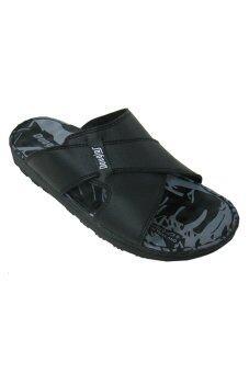 IQ Soft รองเท้าแตะ บุรุษ รุ่น 3630 (Black)