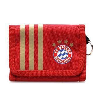 ADIDAS กระเป๋าสตางค์ รุ่น FCB WALLET - V86547-NS (RED/GOLD)