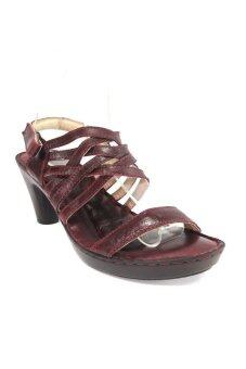 Trippershoes Genuine Leather รองเท้าหนังแท้ รุ่น Andreina Alto code A295-68 (สีน้ำตาล / Chocolate Brown)