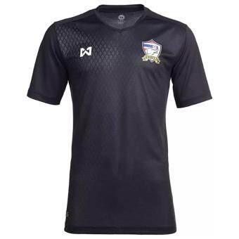 Warrix เสื้อเชียร์ฟุตบอลทีมชาติไทย สำหรับเด็ก 8 ขวบ Thai National Football Jersey For Kids รุ่น WA-17FT53M-AA