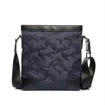 Stmartshop กระเป๋าสะพายข้าง Messenger Style Bag รุ่น 6316 (สีน้ำเงิน)