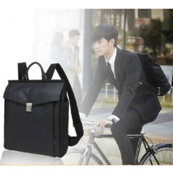 FTshop กระเป๋าเป้สะพายหลัง+กระเป๋าสะพายหลัง+กระเป๋าแฟชั่นจากซี่รีย์ยัยตัวร้ายกับนายต่างดาว สุดฮอต-bag00119c-สีดำ