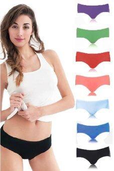 Wonder Bra Seamless Ice Silk Panties กางเกงชั้นในไร้ขอบ 7 ตัว 7สี