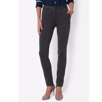 PRIMO LINEA กางเกงแสล็ค ผ้ายืด I-flex รุ่น 4JW45L2013 (สีเทา)